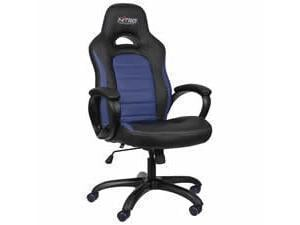 Nitro Concepts C80 Pure Gaming Chair  Black  Blue