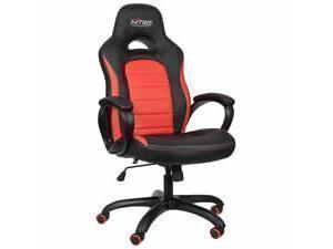 Nitro Concepts C80 Pure Gaming Chair  Black  Red