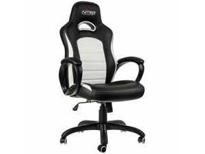 Nitro Concepts C80 Pure Gaming Chair  Black  White