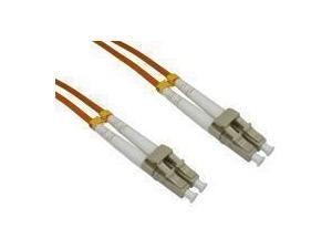 Image of 1m Cables Direct Fibre Optic Cable, OM2 LC-LC Orange