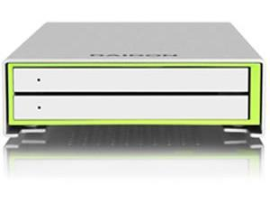 "Image of Raidon External USB 3 RAID Enclosure for 2x 2.5"" SATA Hard Disk / SSD"