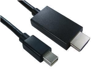 Mini DisplayPort (m) To HDMI (m) Cable 1m