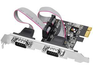 Image of Novatech 2 Port Serial Adapter
