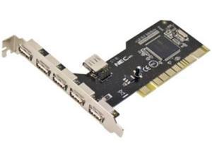 Novatech 6 Port PCI USB 2.0 Adapter