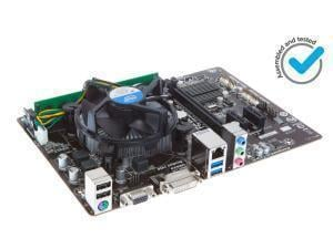 Novatech Motherboard Bundle - Intel Core I3 4160 - 1x 4gb Ddr3 1600mhz - Intel H81m Chipset Motherboard Picture