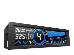 nzxt-sentry-3-54-touch-screen-fan-controller-matt-black
