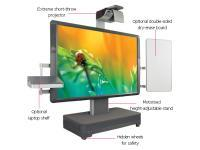 Image of Promethean ActivBoard 587 Pro Mobile System with mobile stand and Extreme Short Throw Projector