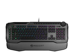 Image of ROCCAT Horde Aimo Membranical RGB Gaming Keyboard, UK Layout, Grey