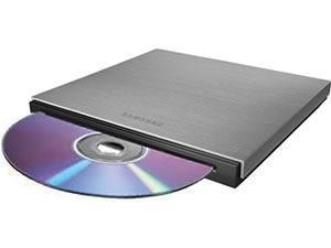 Samsung SE B18AB Ultra Slim Slot Loading External DVD Rewriter   Silver