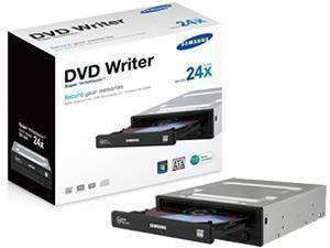 Samsung 224DB 24x DVD Re Writer   SATA   Black   Retail