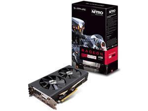 SAPPHIRE Radeon RX 470 NITRO+ OC 8GB GDDR5 Graphics Card