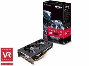 SAPPHIRE Radeon RX 480 NITRO+ OC 8GB GDDR5 Graphics Card