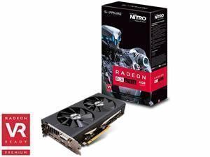 SAPPHIRE Radeon RX 480 NITRO+ 4GB GDDR5 Graphics Card