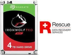 Image of Seagate IronWolf Pro NAS 4TB 7200RPM 128MB 3.5 SATA HDD