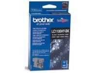 Image of Brother LC1100HYBK Black Ink Cartridge - High Yield