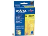 Image of Brother LC1100HYY Yellow Ink Cartridge - High Yield