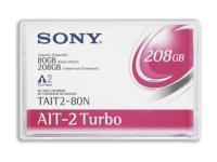 Sony  1 x Turbo AIT2  80 GB  208 GB  No Chip  Storage Media