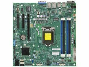 Image of Supermicro X10SLL-F Intel C222 (Socket 1150) Motherboard