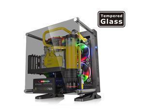 Thermaltake Core P1 Mini ITX Tempered Glass Edition Black