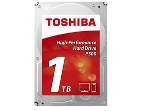 Image of Toshiba P300 1TB 64MB Cache Hard Drive SATA 6GB/s 7200rpm - OEM