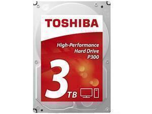 Image of Toshiba P300 3TB 64MB Cache Hard Drive SATA 6GB/s 7200rpm - OEM