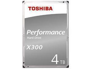 Toshiba X300 4TB 64MB Cache Hard Drive SATA 6GBs 7200rpm  OEM