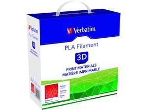 Image of Verbatim 3D Printer Filament PLA 1.75mm Red 1kg Reel