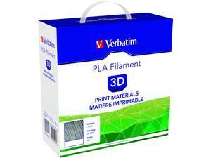Image of Verbatim 3D Printer Filament PLA 1.75mm Silver / Metal-Grey 1kg Reel