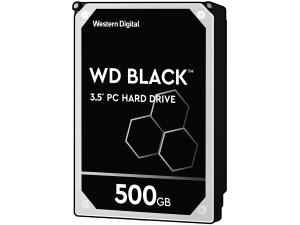 Image of WD Black 500GB 64MB Cache Hard Disk Drive SATA 6 Gb/s 126MB/s