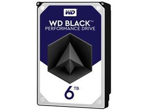 WD Black 6TB 128MB Cache Hard Disk Drive SATA 6 Gbs 164MBs 7200rpm  OEM