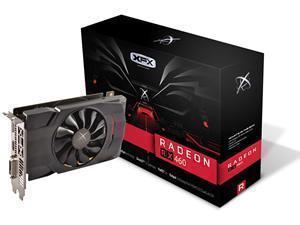 XFX Radeon RX 460 Single Fan 4GB GDDR5 Graphics Card