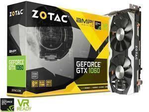 ZOTAC GeForce GTX 1060 AMP! 6GB GDDR5 Graphics Card