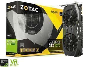 ZOTAC GeForce GTX 1070 AMP! Edition 8GB GDDR5 Graphics Card