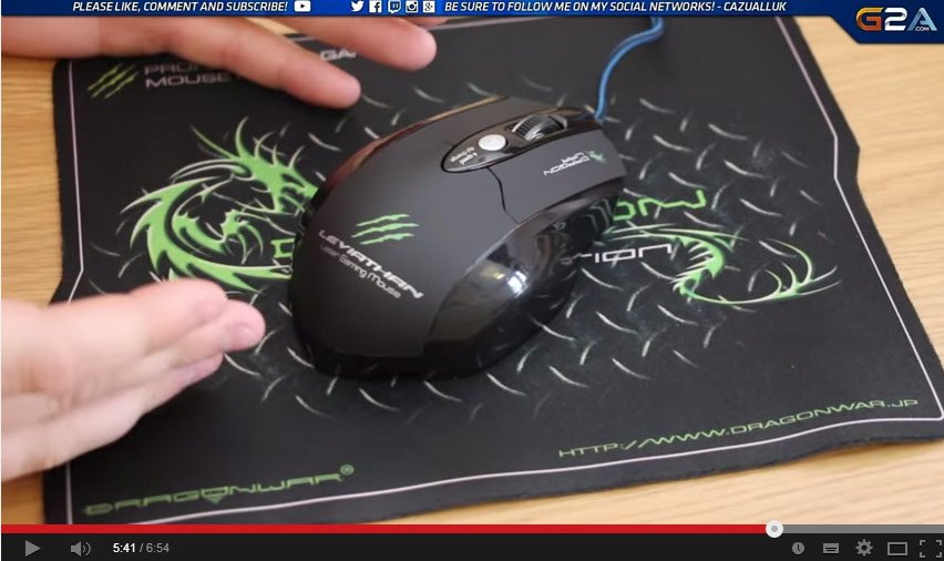 how to open dragon war mouse