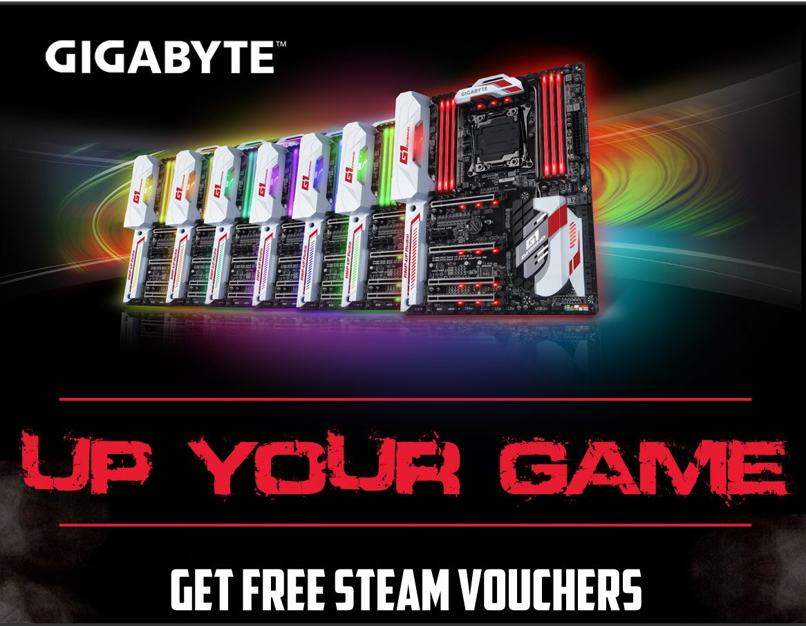 Gigabyte Launch £30 Steam Voucher Promotion - Novatech Blog