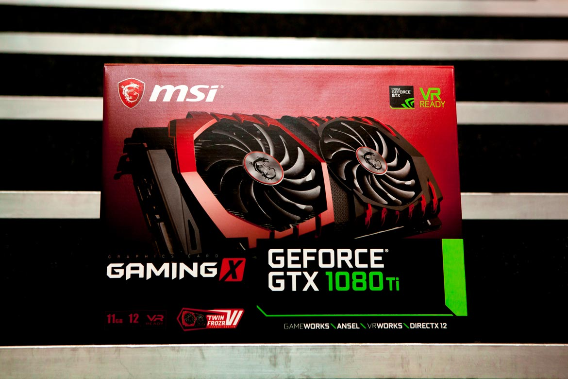 MSI GeForce GTX 1080Ti