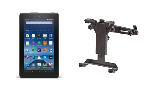 Kindle Fire and Tablet Holder for Car