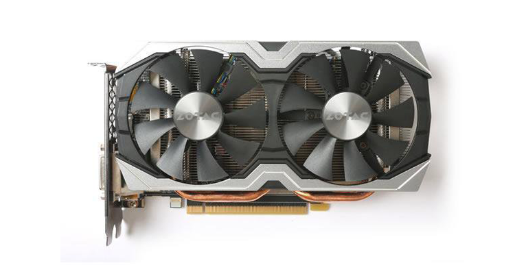 ZOTAC GeForce GTX 1060 AMP! 6GB GDDR5 Graphics Card