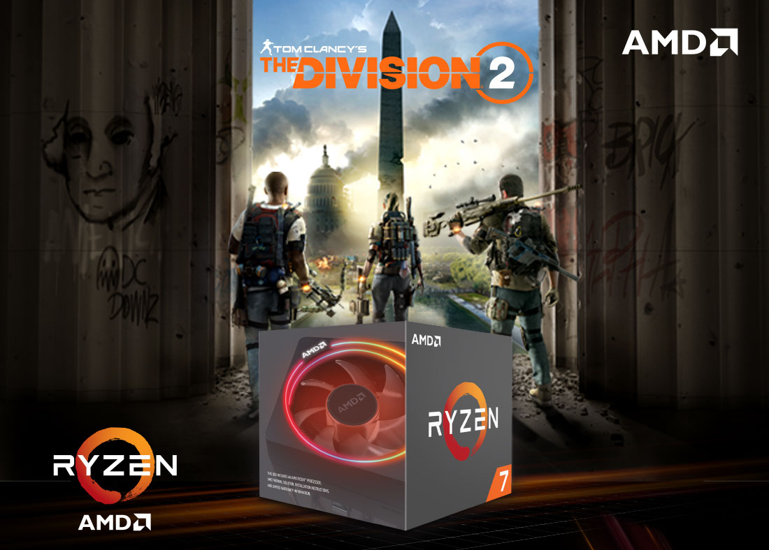AMD Ryzen Division 2 Promotion | Novatech