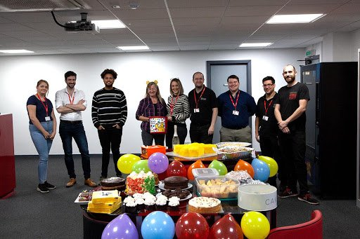Children In Need Fund Raising at Novatech
