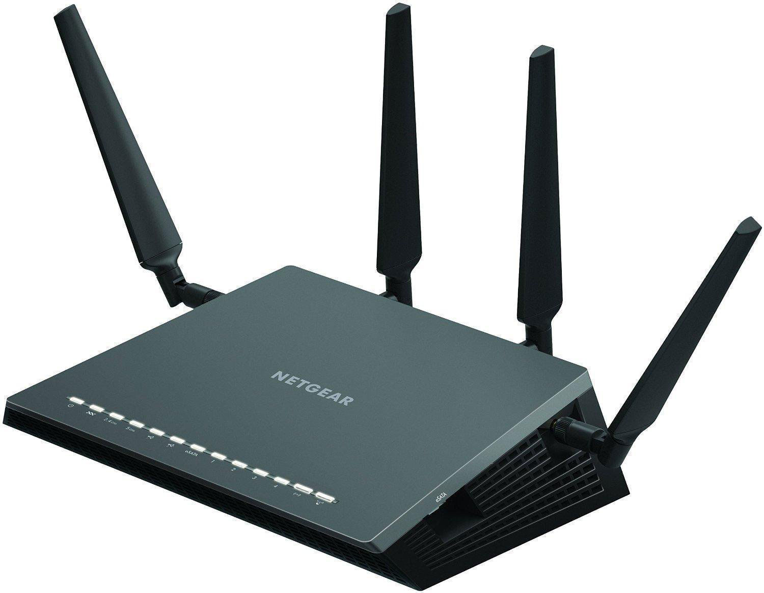 NETGEAR D7800 Nighthawk X4S AC2600 Simultaneous Dual-Band VDSL/ADSL2+ WiFi Router (2600Mbps AC)