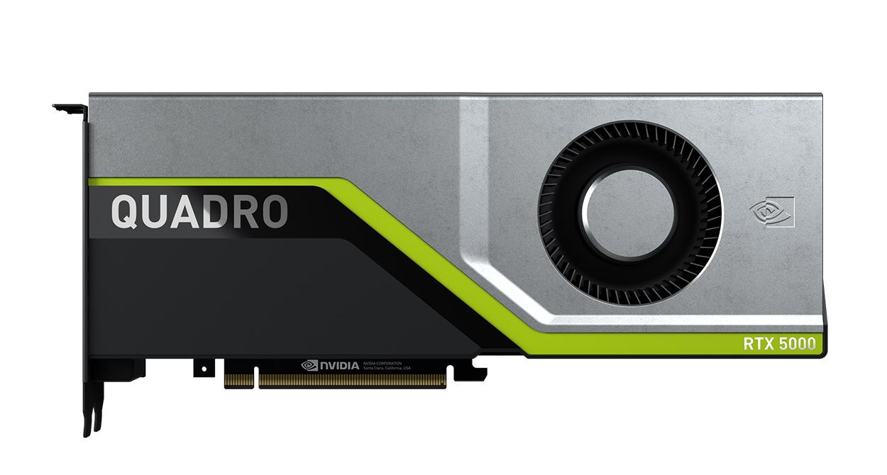 NVIDIA Quadro RTX 5000 graphics card