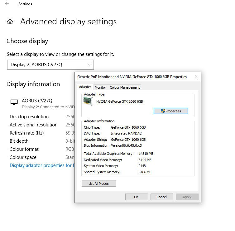 how to change a monitor to 144hz