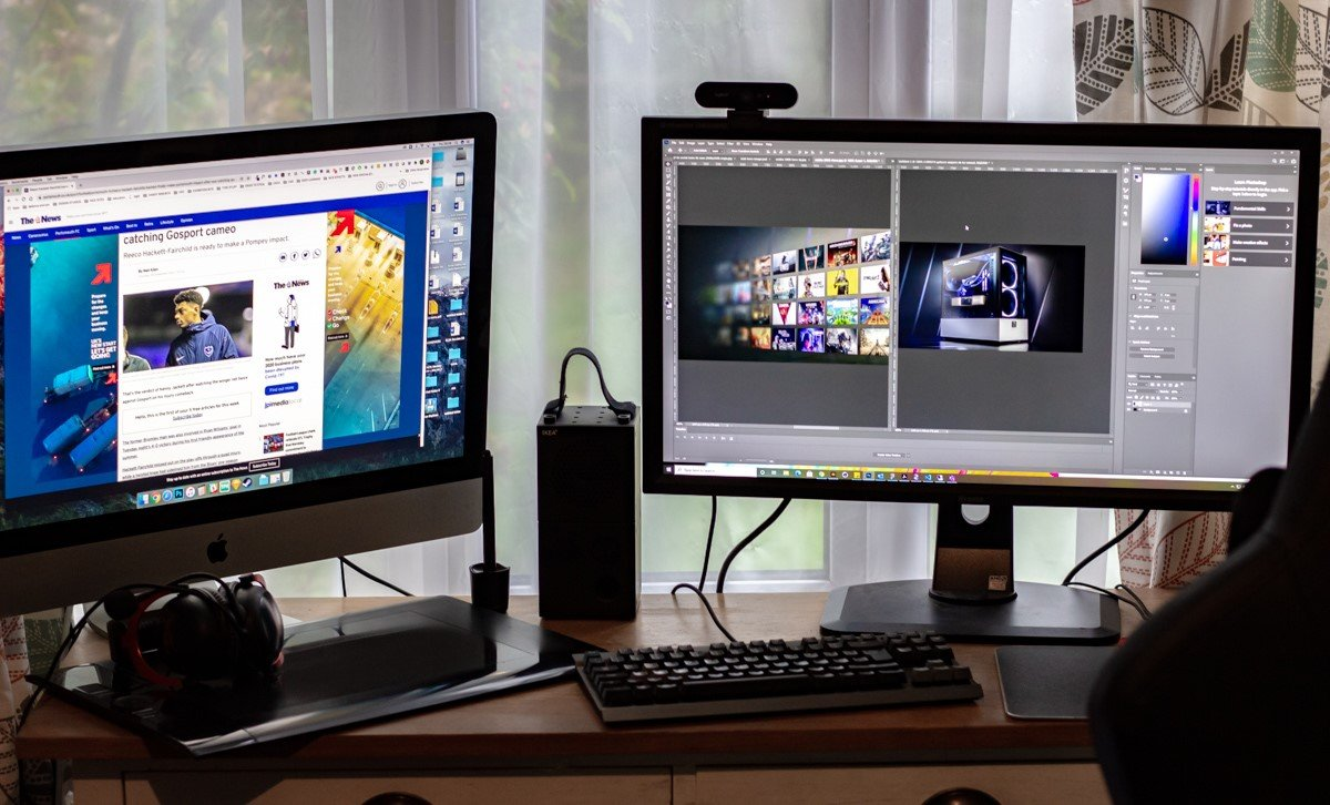 (Creative Manager, Paul Hobb's Mac and PC set-up