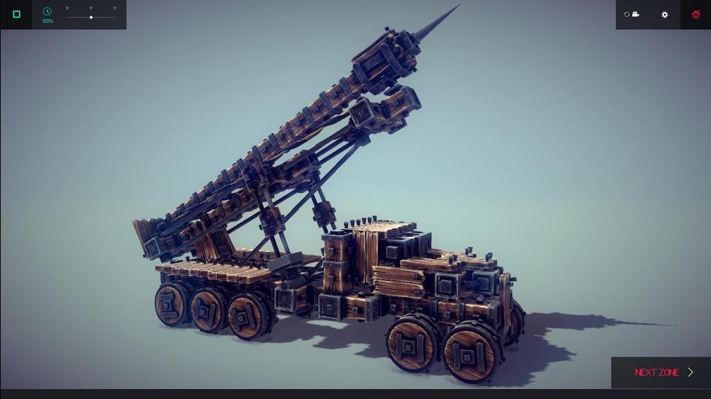 Besiege Missile Launcher