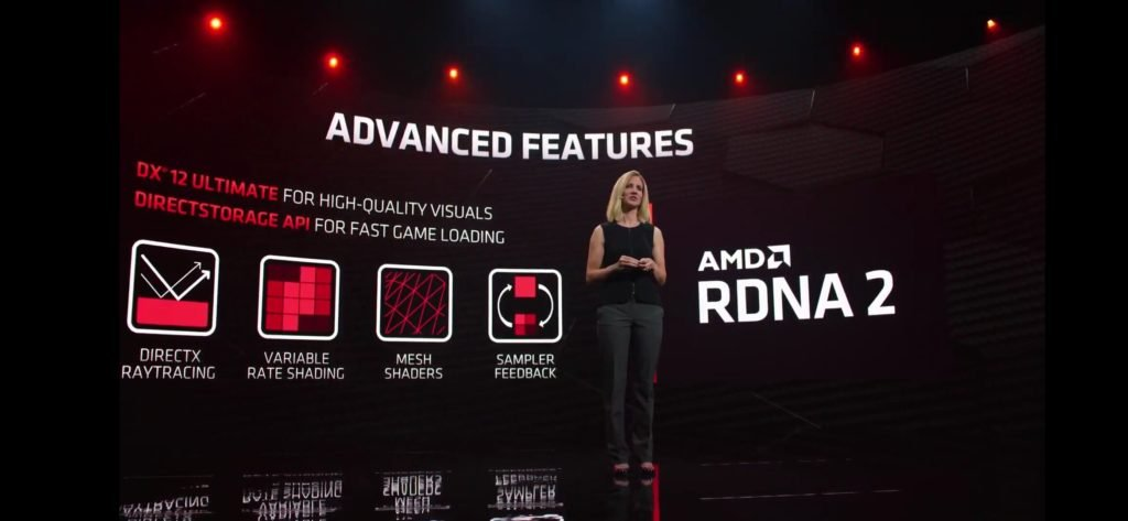 AMD 6000 series supports DX12 Ultimate features