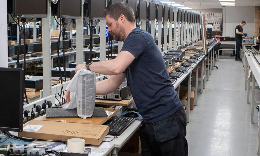 Novatech enhand fulfilment- systems in production