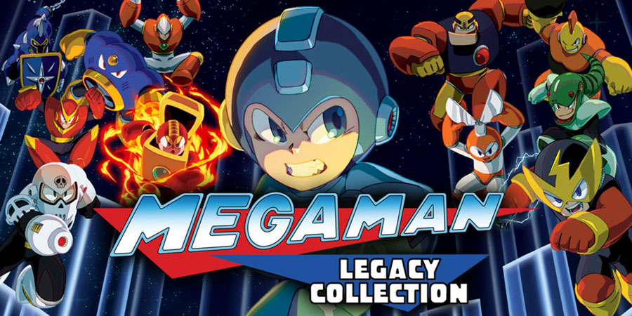 Megaman the legacy collection