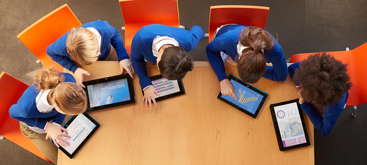 Preparing students for the world of work - Microsoft office