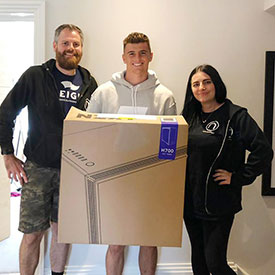 Mason Mount with Reign Gaming PC